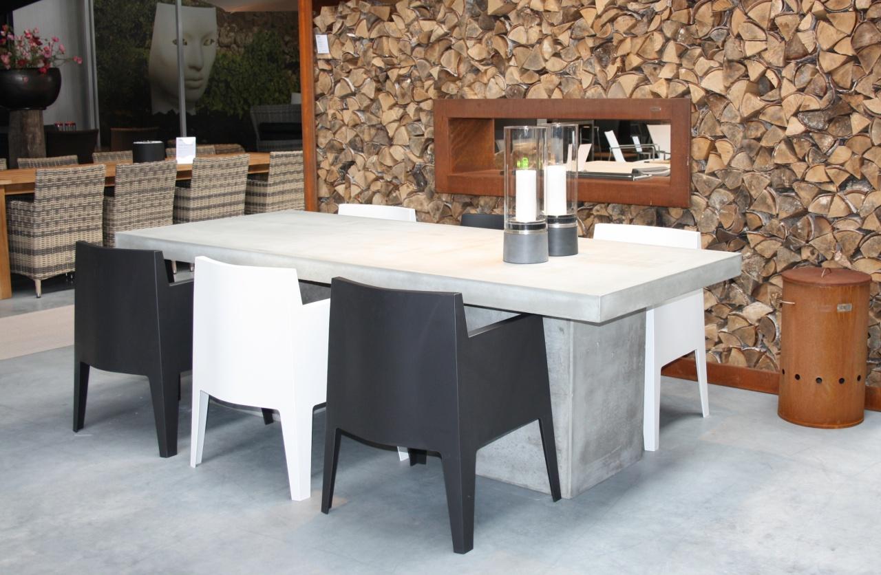 Beton Tafel Buiten : Zanati beton